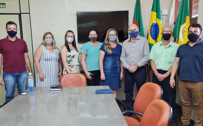 Foto de capa da notícia Visita do Deputado Estadual Dirceu Franciscon