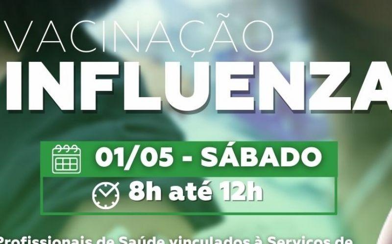 Foto de capa da notícia SÁBADO DE VACINAÇÃO CONTRA A INFLUENZA
