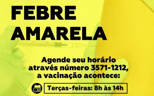 Foto de capa da notícia: Agende sua vacina contra a Febre Amarela