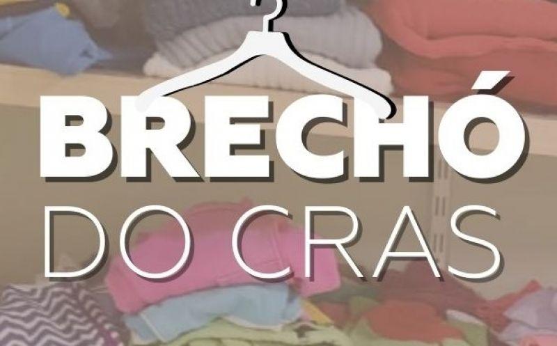 Foto de capa da notícia: Brechó do CRAS