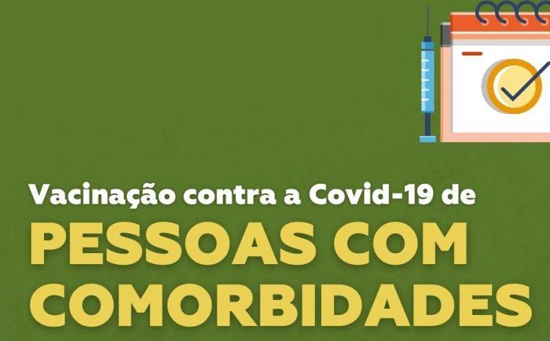 Foto de capa da notícia: Começa a vacinação de pessoas com comorbidades