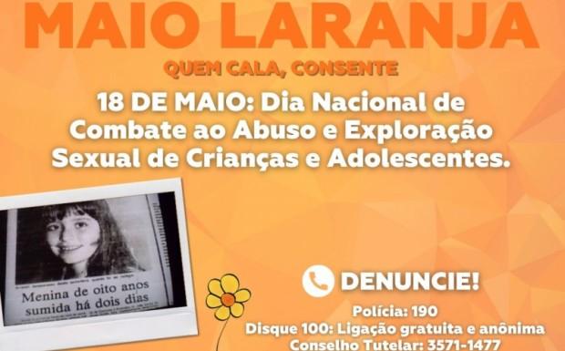 Foto de capa da notícia: MAIO LARANJA