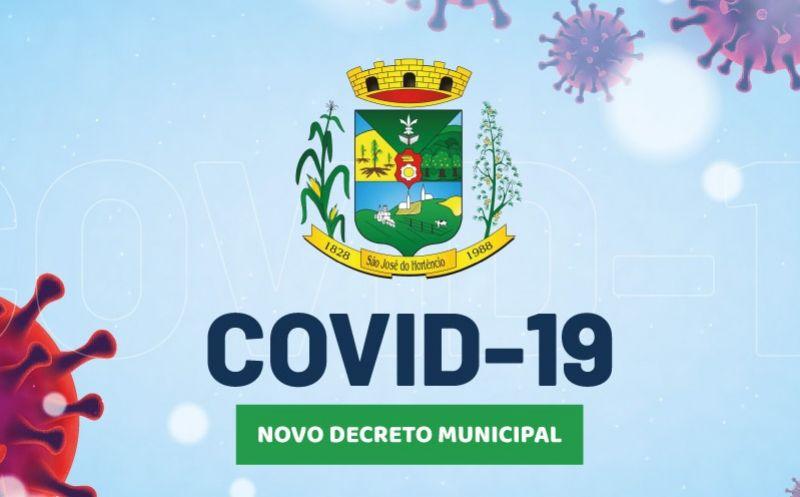 Foto de capa da notícia Decreto Municipal n°24/2021 de enfrentamento à Pandemia do COVID-19!