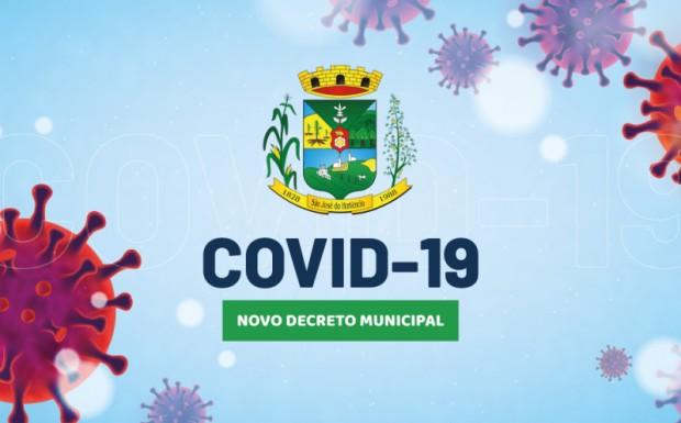 Foto de capa da notícia: Decreto Municipal n°24/2021 de enfrentamento à Pandemia do COVID-19!