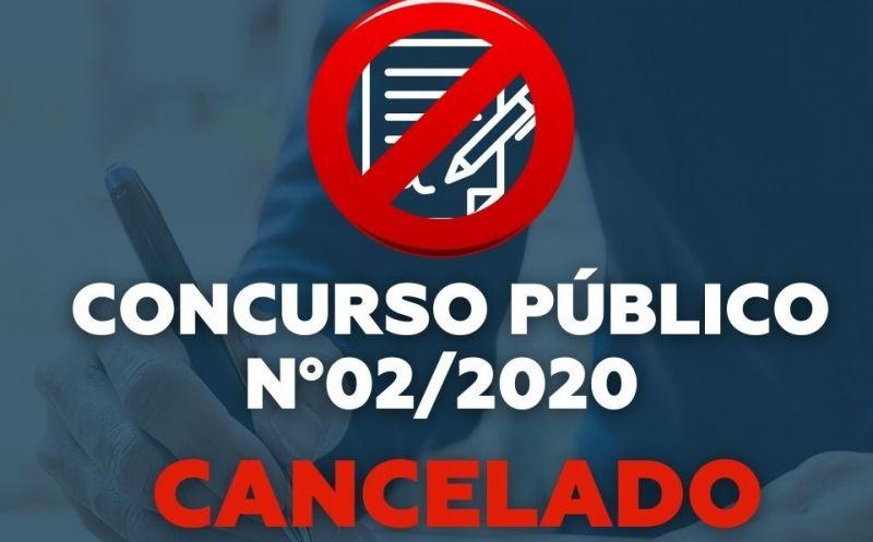 Foto de capa da notícia CONCURSO PÚBLICO Nº 02/2020 CANCELADO