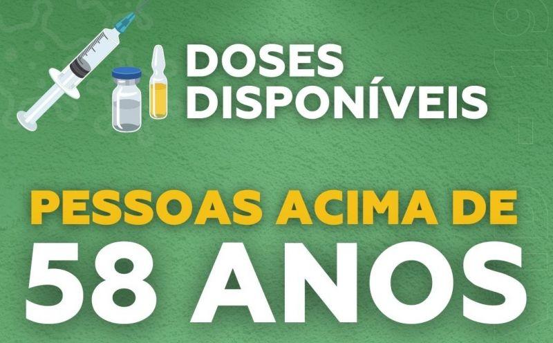 Foto de capa da notícia Pessoas com 58 anos ou mais começam a ser vacinadas em São José do Hortêncio