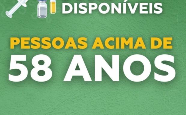Foto de capa da notícia: Pessoas com 58 anos ou mais começam a ser vacinadas em São José do Hortêncio
