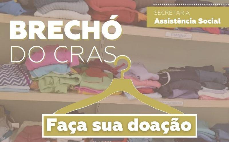 Foto de capa da notícia Brechó do CRAS