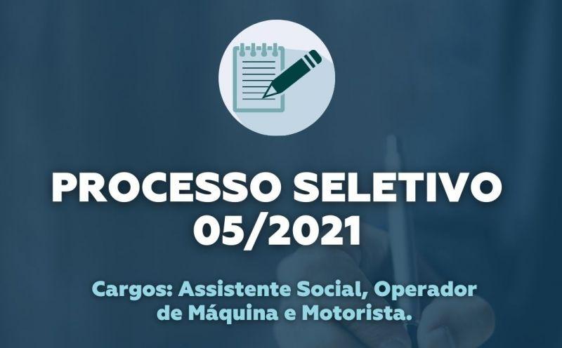 Foto de capa da notícia Processo Seletivo de Assistente Social, Operador de Máquina e Motorista