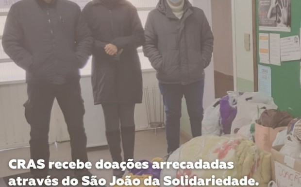Foto de capa da notícia: CRAS recebe doações