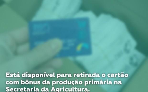 Foto de capa da notícia: Agricultores já podem retirar o Bônus Agrícola