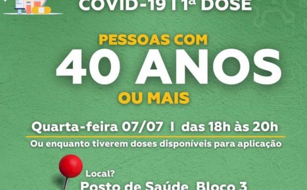 Foto de capa da notícia: São José de Hortêncio avança nos grupos de vacinação contra a Covid-19