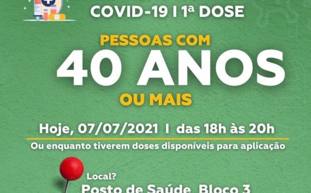 Foto de capa da notícia: São José de Hortêncio avança nos grupos de vacinação