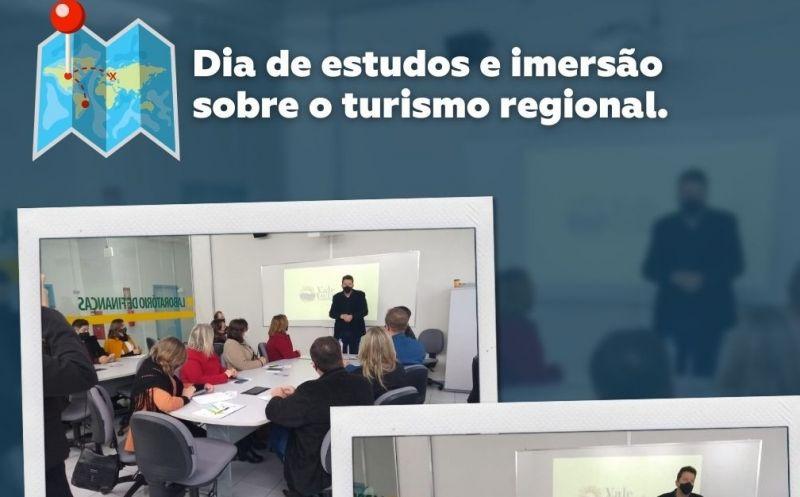 Foto de capa da notícia Dia de estudo e imersão sobre o turismo regional