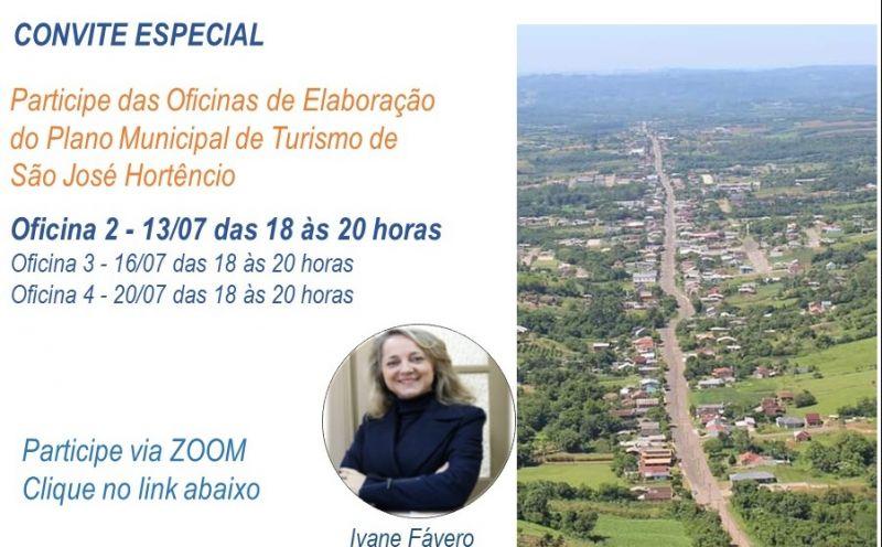 Foto de capa da notícia Oficinas para elaboração do Plano de Turismo de São José do Hortêncio