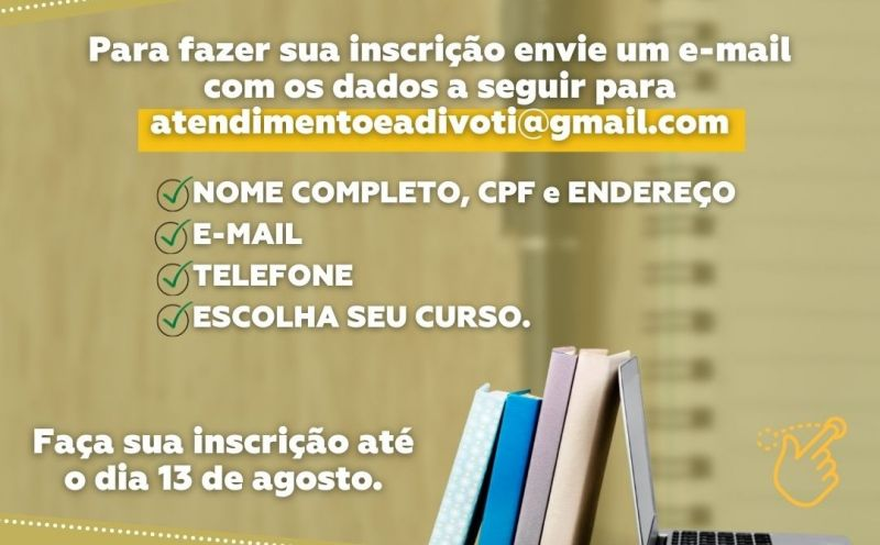 Foto de capa da notícia Oportunidade: Faça um curso profissionalizante gratuitamente