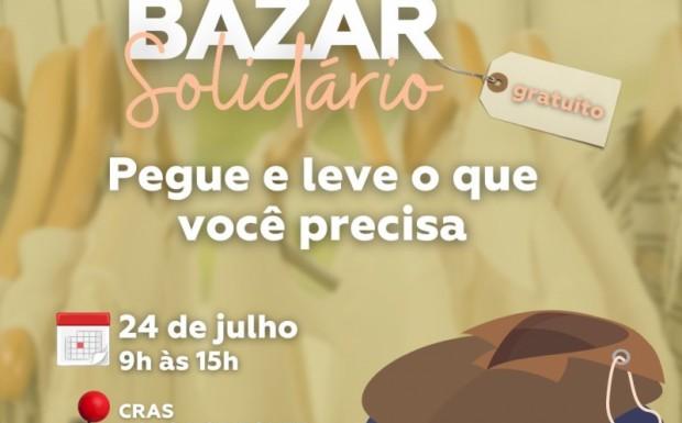 Foto de capa da notícia: São José de Hortêncio realiza bazar solidário