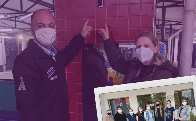 Foto de capa da notícia Escola instala alarme para ser usado em caso de urgência