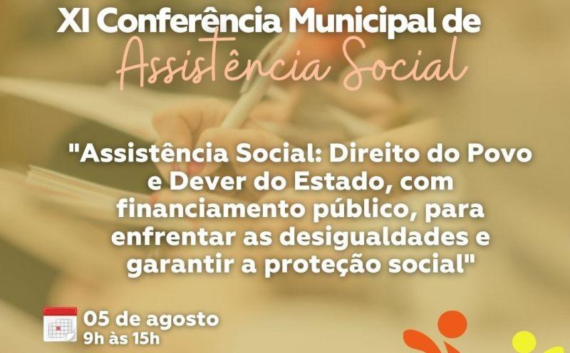 Foto de capa da notícia XI Conferência Municipal de Assistência Social