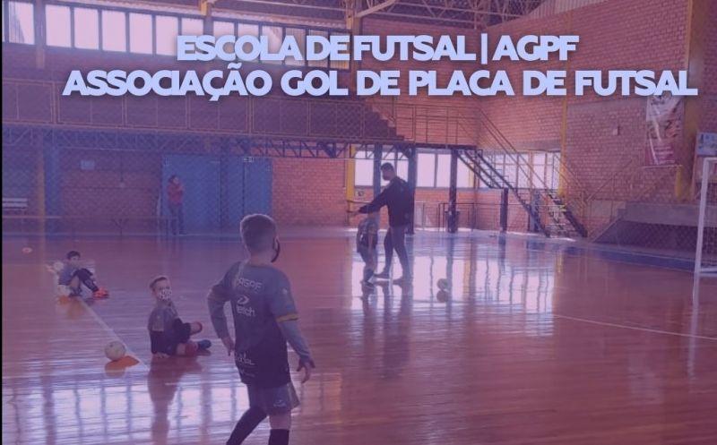 Foto de capa da notícia Inscreva seu filho na Escola de Futsal I AGPF Associação Gol de Placa Futsal