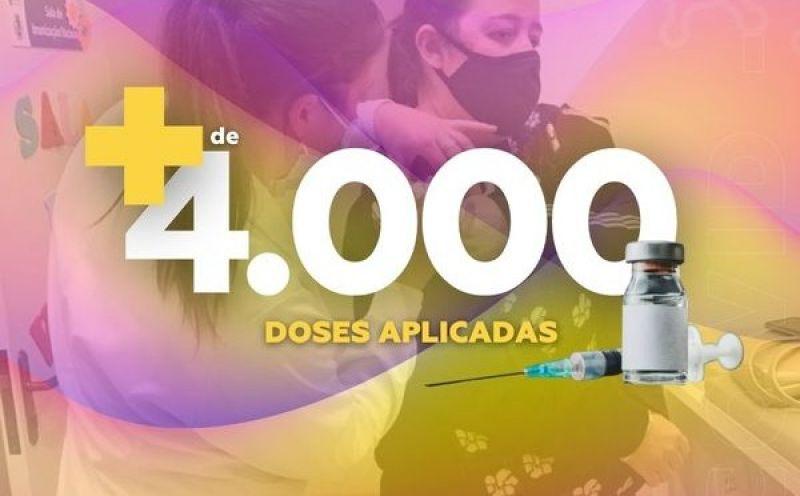 Foto de capa da notícia São José do Hortêncio já aplicou 4.070 doses da vacina contra a Covid-19