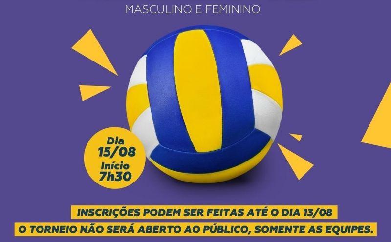 Foto de capa da notícia Encerram hoje as inscrições para o Torneio Municipal de Vôlei Masculino e Feminino de São José do Hortêncio
