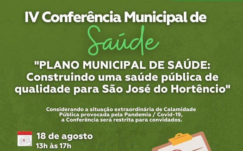 Foto de capa da notícia IV Conferência Municipal de Saúde