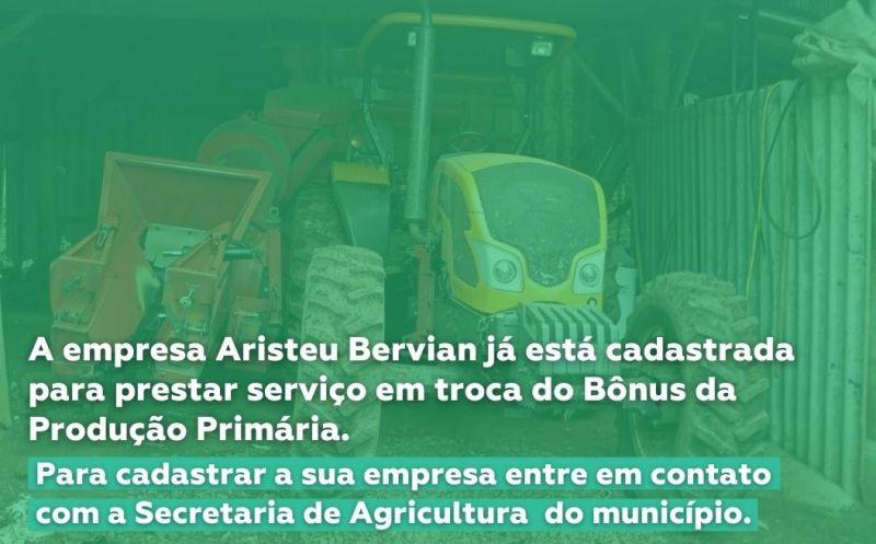 Foto de capa da notícia Secretaria de Agricultura realiza cadastro para prestadores de serviço