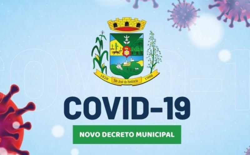Foto de capa da notícia DECRETO MUNICIPAL N°036/2021, DE ENFRENTAMENTO À PANDEMIA DO COVID-19!