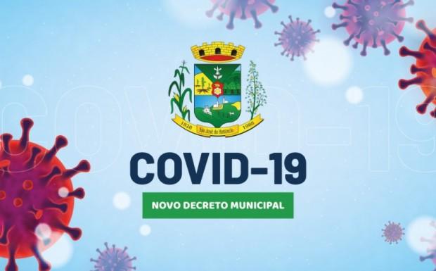 Foto de capa da notícia: DECRETO MUNICIPAL N°036/2021, DE ENFRENTAMENTO À PANDEMIA DO COVID-19!