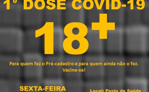 Foto de capa da notícia: Sexta 03 de setembro tem vacinação!