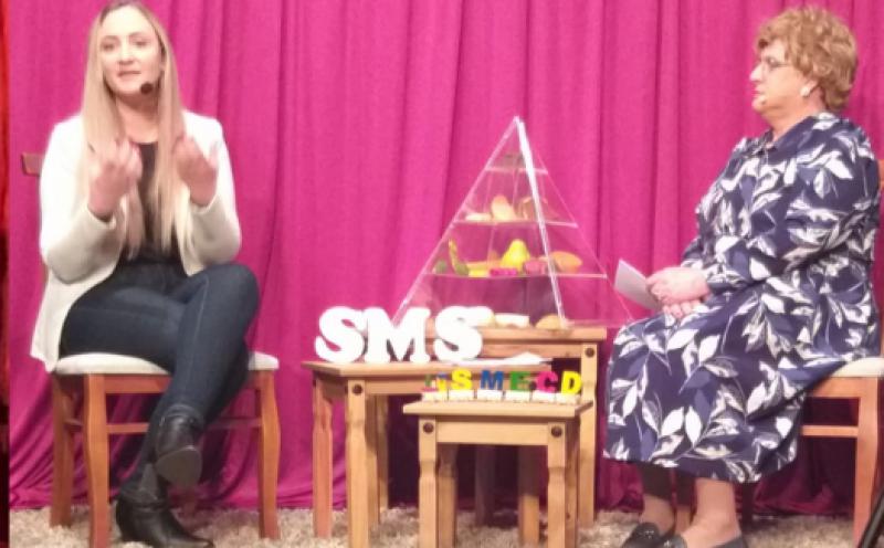 Foto de capa da notícia Live do Encontro com a Herta e a Nutricionista Sumaia Fey.