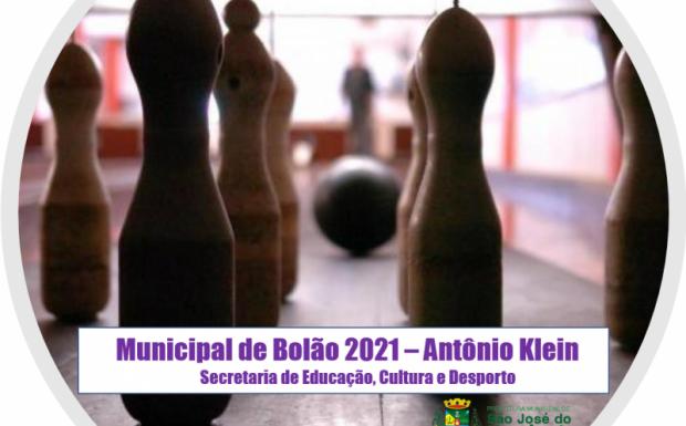 Foto de capa da notícia: Municipal de Bolão 2021 – Antônio Klein, tem início hoje!