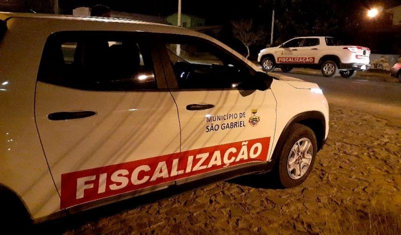 Foto de capa da notícia FISCALIZAÇÃO ATUA EM AGLOMERAÇÕES E FAZ ALERTA