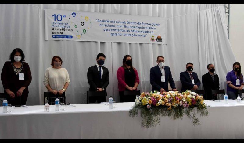 Foto de capa da notícia: CONSELHO REALIZOU A 10ª EDIÇÃO DA CONFERÊNCIA MUNICIPAL