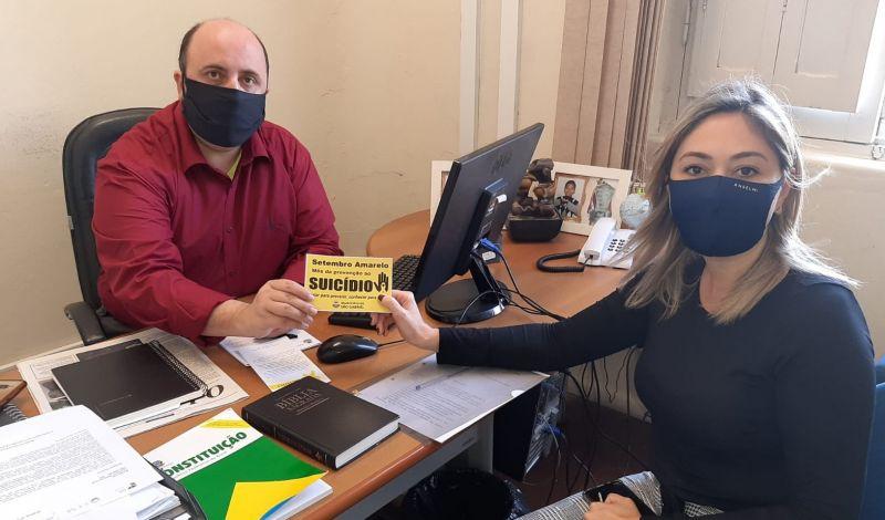 Foto de capa da notícia: CAMPANHA BUSCA CONSCIENTIZAÇÃO COMUNITÁRIA