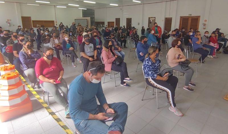 Foto de capa da notícia MAIS DA METADE DA POPULAÇÃO DE SÃO GABRIEL JÁ RECEBEU DUAS DOSES DE VACINA