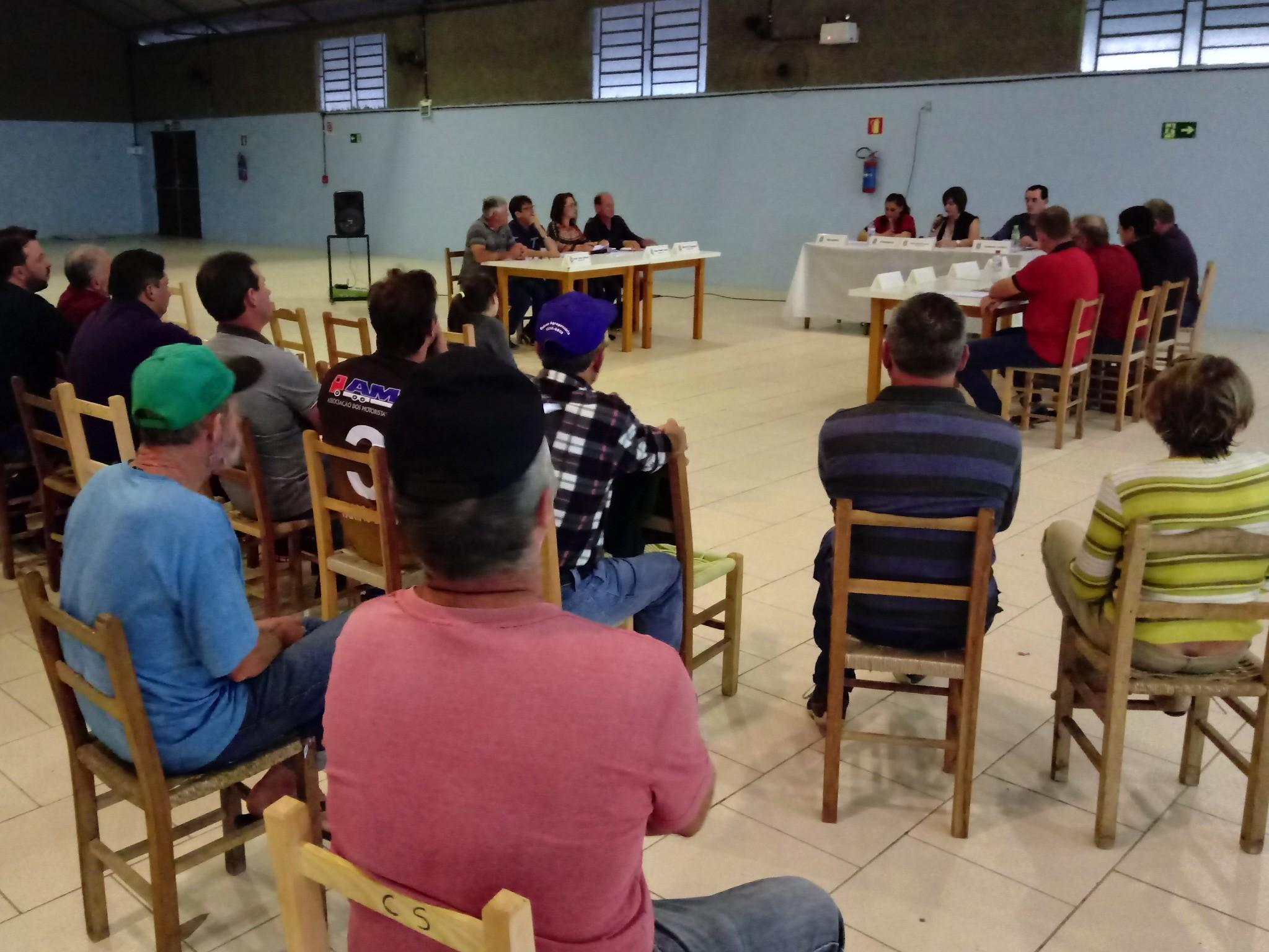 Foto de capa da notícia Confira como foi a sessão ordinária na Comunidade de Nossa Senhora da Saúde