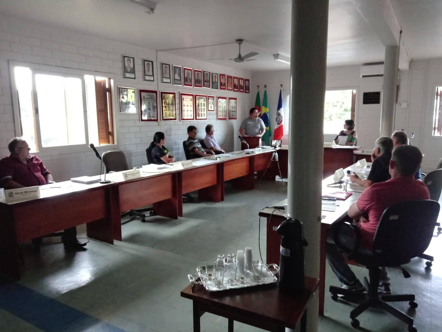Foto de capa da notícia Câmara de Campestre da Serra aprova orçamento para o município em 2020