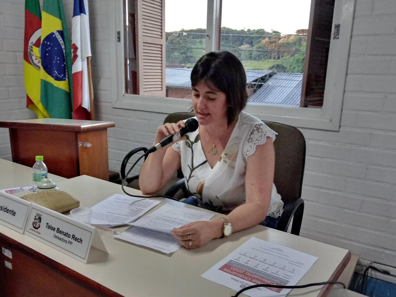 Foto de capa da notícia Presidente da Câmara de Campestre da Serra apresenta balanço das atividades realizadas em 2019