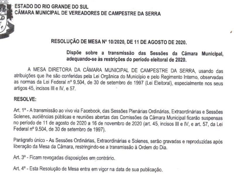 Foto de capa da notícia: A partir de hoje as sessões transmitidas pelo facebook não serão mais ao vivo