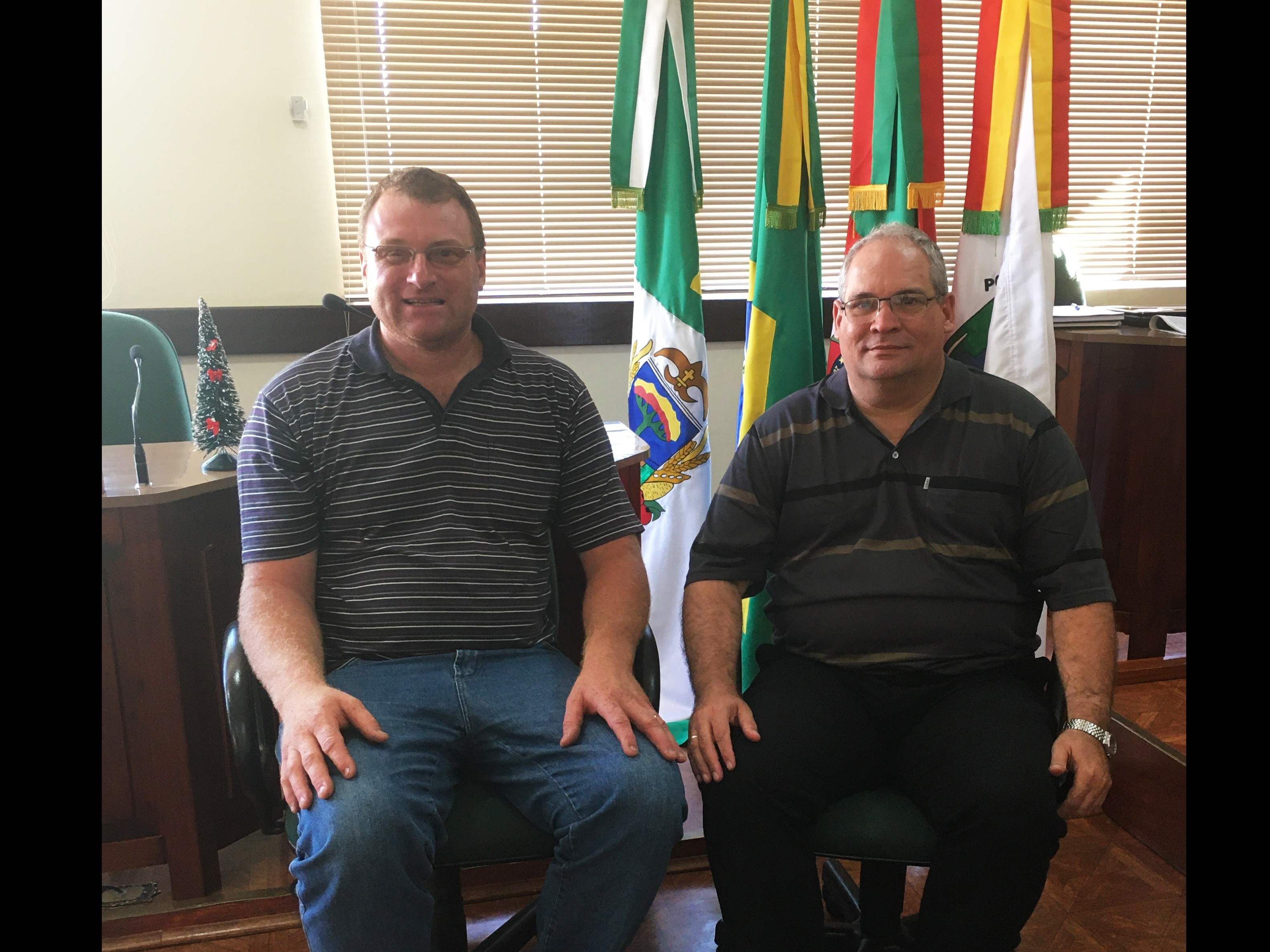 Foto de capa da notícia Definida a data para Sessão Solene onde Padre Osvaldo receberá o Título de Cidadão Honorário do Município de Ipê