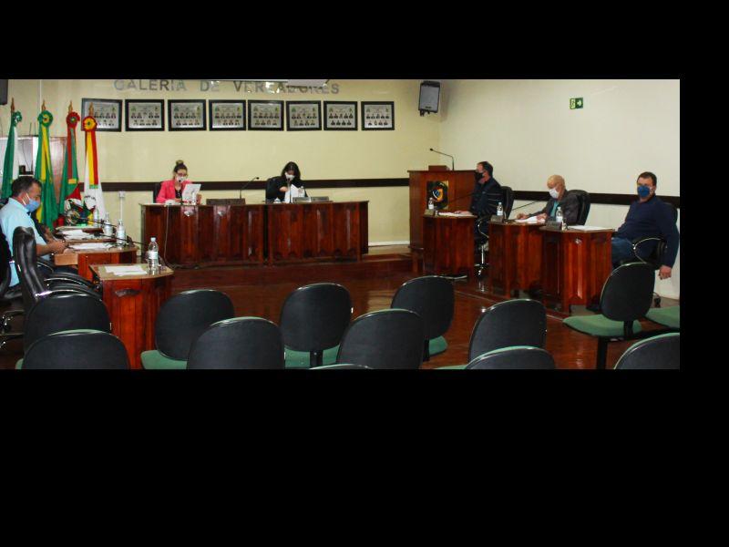 Foto de capa da notícia Confira agora como foi a Sessão Plenária Ordinária de ontem, 21 de julho de 2020, na Câmara Municipal de Vereadores de Ipê: