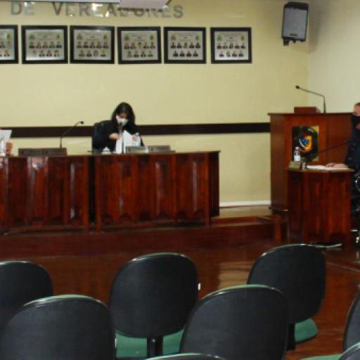Foto de capa da notícia: Confira agora como foi a Sessão Plenária Ordinária de ontem, 21 de julho de 2020, na Câmara Municipal de Vereadores de Ipê: