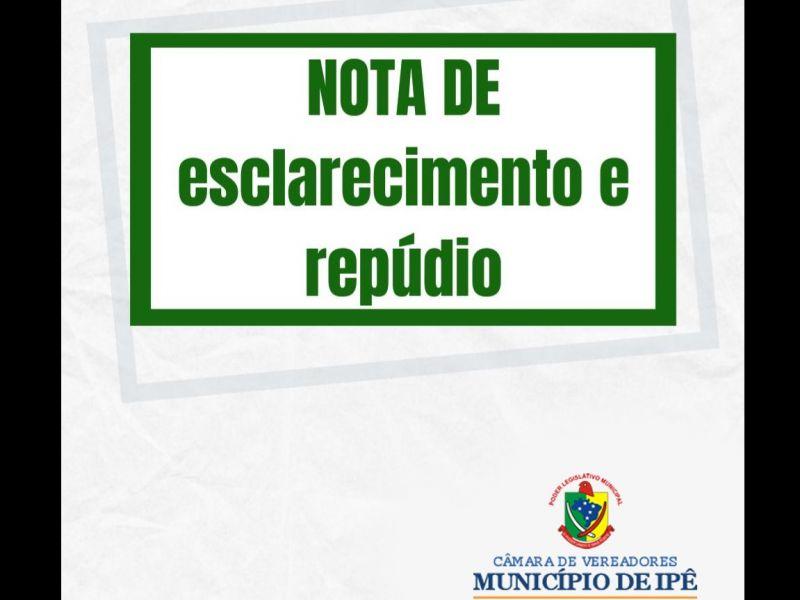 Foto de capa da notícia Vereadores da bancada do PP e PDT protocolam nota de Esclarecimento e Repúdio e pedem que seja encaminhada ao Prefeito Municipal