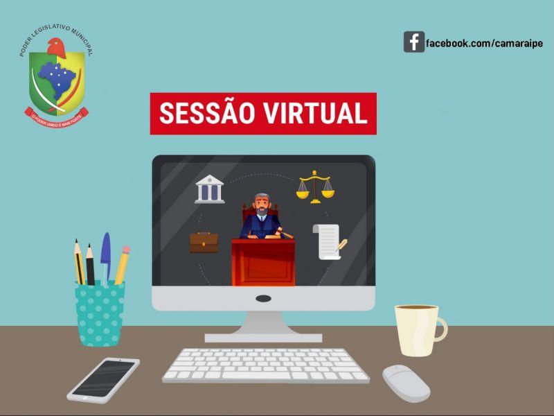Foto de capa da notícia Resultado da Sessão Ordinária Virtual da Câmara de Vereadores - 15 de Junho de 2021