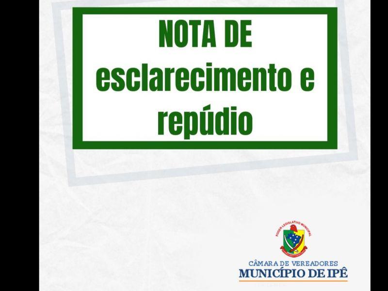 Foto de capa da notícia Bancada do MDB protocolou nota de esclarecimento e repúdio na sessão de 29 de Junho de 2021.