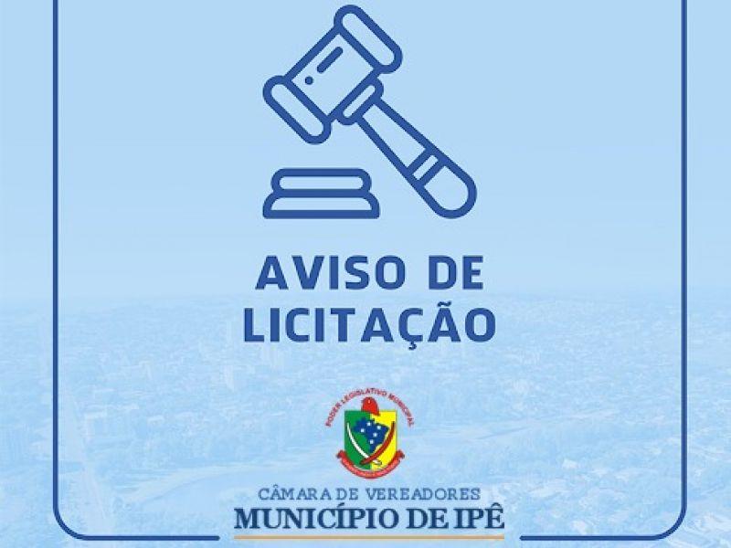 Foto de capa da notícia INEXIGIBILIDADE DE LICITAÇÃO Nº 002/2021