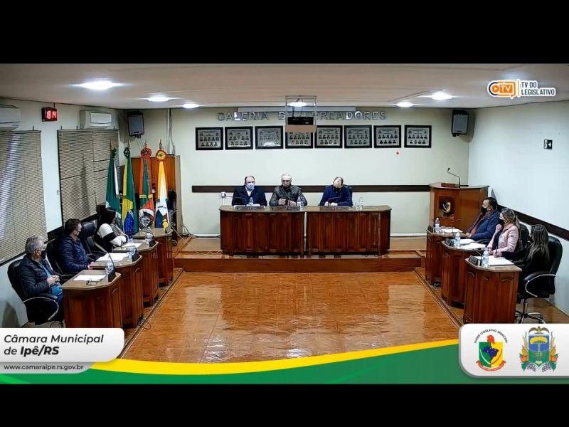 Foto de capa da notícia Após recesso,  agosto iniciou com 4 Projetos de Lei do Executivo aprovados  na sessão Ordinária de 03 de agosto de 2021.