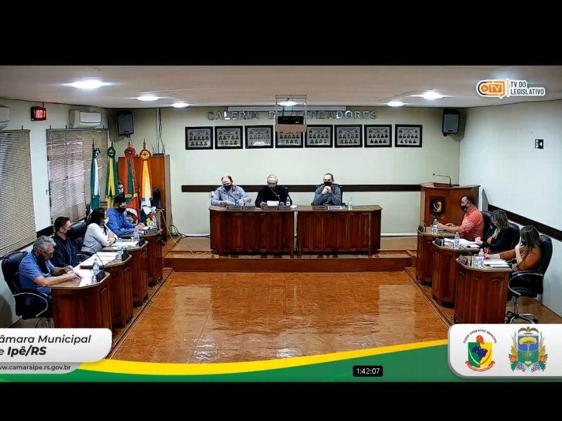 Foto de capa da notícia Resultado da Sessão Ordinária da Câmara de Vereadores - 17 de Agosto de 2021